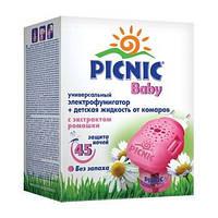 Комплект Пикник Бэби электрофумигатор и жидкость от комаров 30 мл