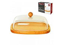 Масленка деревянная 17,2х12,4х6,2см Basser MP-0615