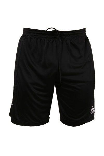Футбольные вратарские шорты Liga Sport (Черные с белым), фото 1
