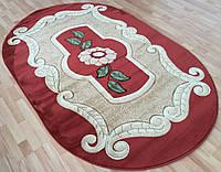 Полипропиленовый коврик на пол овальной формы
