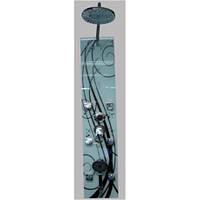 Стеклянная душевая панель ATLANTIS GL015