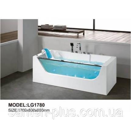 Гидромассажная ванна Dusrux LG 1780 (L,R), фото 2