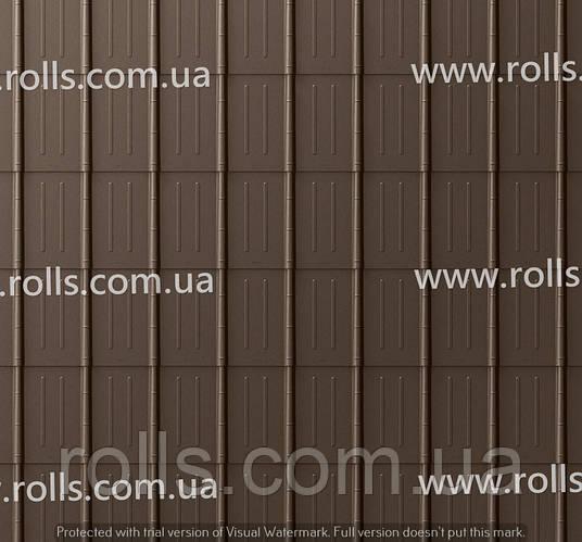 Prefalz Braun Лист алюминиевый, 0,7мм 1000*2000мм, цвет коричневый, Prefa Brown