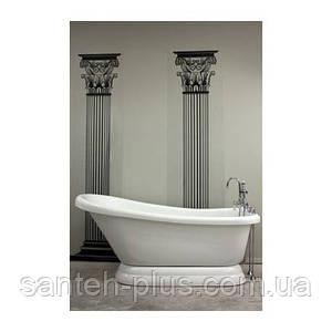 Акриловая ванна AquaStream Miami 185*80*80 с аэромассажем на подиуме