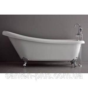 Акриловая отдельно стоящая ванна AquaStream Miami 185*80*80 с аэромассажем на ножках