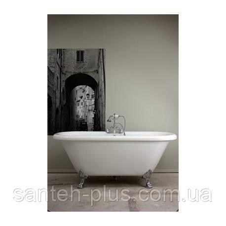 Акриловая отдельно стоящая ванна AquaStream New York 185*81*76 на ножках