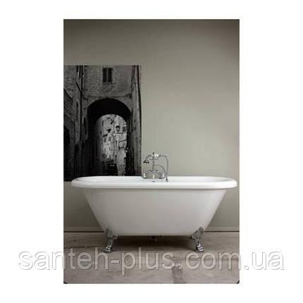 Акриловая отдельно стоящая ванна AquaStream New York 185*81*76 на ножках, фото 2