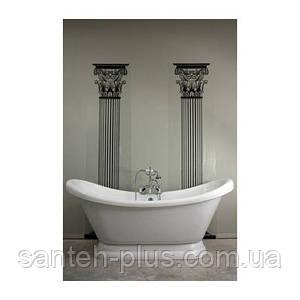 Акриловая отдельно стоящая ванна AquaStream Denver 185*80*84 на подиуме