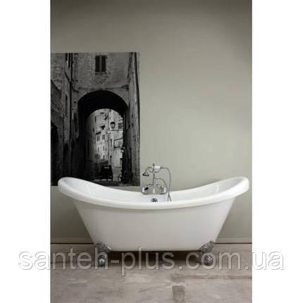 Акриловая ванна AquaStream Denver 185*80*84 на ножках, фото 2