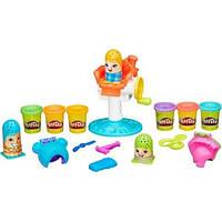 Play-Doh Hasbro Игровой набор Сумасшедшие прически Crazy Cuts Barbershop Dough