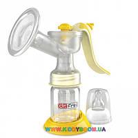 Молокоотсос помповый механический двухфазный Dr.Frei GM-20