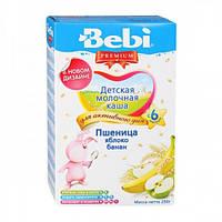 Каша молочная Bebi пшеница - яблоко, банан (с 6 мес.) 250 гр.