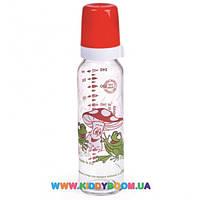 Бутылочка стеклянная с рисунком 240 мл Canpol 42/201