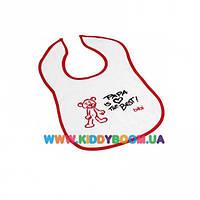 Нагрудник детский с вышивкой Bibi 103310