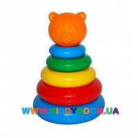 Развивающая игрушка Пирамидка маленькая Тигрес 39116
