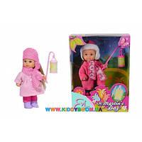 Кукла Эви с фонарем Зимняя сказка Steffi & Evi love 5733086