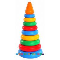 Развивающая игрушка Пирамидка Wader 39103