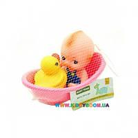 Набор игрушек для ванной Пупс Baby Team 9016
