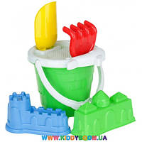 Песочный набор Замок маленький Toys Plast ИП.21.007