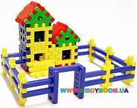 Конструктор пазлы Дом, который построил Джек Toys Plast ИП.09.004