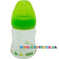 Бутылочка для кормления Baby Team с широким горлом 150 мл 1005
