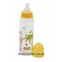 Бутылочка для кормления Baby Team стеклянная 250 мл 1201