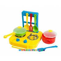 Набор посуды Ромашка с плитой Тигрес 7 элементов 39150
