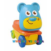 Машинка для катания-чемоданчик Медвежата BabyBaby 03763