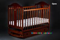 Детская кровать Ласка-М Наполеон New маятник (поперечный)  с ящиком
