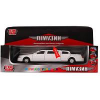 Автомодель Лимузин белый Технопарк SL970WB