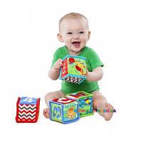 Мягкие кубики Веселое обучение Kids II 52160