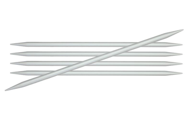 Спиці шкарпеткові 15 см Basix Aluminum KnitPro 4,00 мм