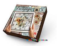 Набор для творчества Decoupage Clock с рамкой Danko toys DKC-01-01