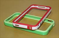 Чехол-бампер для телефона iPhone 4S, mixcolor