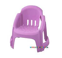 Детский стульчик светло-фиолетовый PalPlay 27264