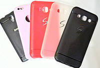 Силиконовый чехол для телефона Shell TPU case Samsung A710F Light Blue