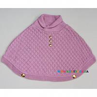 Пончо для девочки р-р 74-86 Baby Muz 0461П