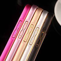 Чехол-бампер для телефона Samsung J110 Ace Metal bumper