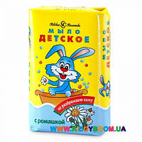 Туалетное мыло с ромашкой Детское 90 гр Невская косметика 01569