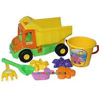 Multi truck грузовик с набором для песка с лейкой 8 эл. Тигрес 39206
