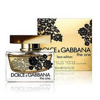 Духи женские Dolce & Gabbana The One Lace Edition (Дольче И Габбана Зе Ван Лас Эдишн)