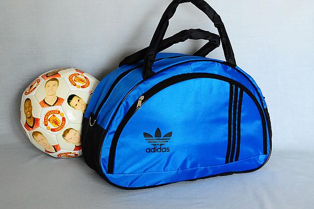 b3fe3dfb71f3 Спортивная сумка Adidas модель MB. (синий+черный). Лучшие цены ...