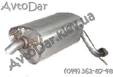 Глушитель 2,4L Chery Eastar B11 Чери Истар B11-1201310