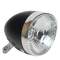 Велосипедная передняя LED - фара в ретро стиле