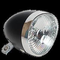 Велосипедна передня LED - фара в стилі ретро, фото 1