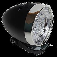 Велосипедная передняя LED - фара Dunlop в ретро стиле, фото 1