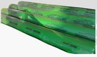 Прочная полиэтиленовая пленка для теплиц Планета Пластик, 80мкм, 100м, зеленый цвет