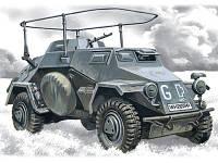 Германский бронеавтомобиль радиосвязи Sd.Kfz.223 1/72