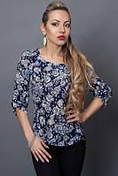 Женская блузка из качественного итальянского шифона