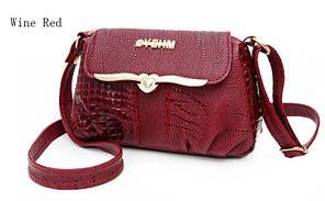 Стильная женская сумка YEHM небольшого размера. Сумка на плечо. Оригинальный дизайн. Купить сумку. Код: КД101
